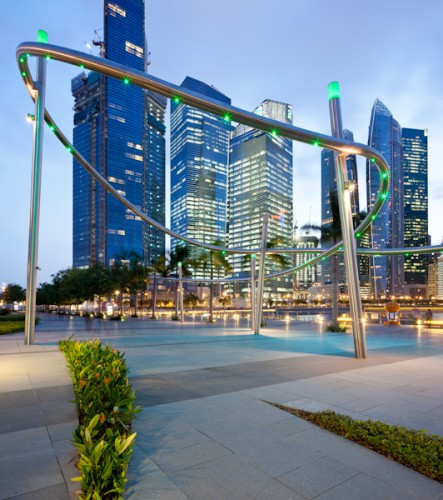 Marina Bay Promenade & Visitor's Centre - Singapore <br ⁄>