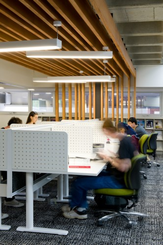 QUT Library - Gardens Point; Brisbane QLD <br ⁄>