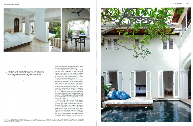 Galle House - Justin Hill + Simon Cundy (KHA); Galle, Srilanka