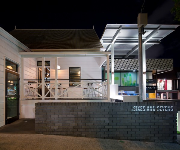 Sixes & Sevens - Fortitude Valley, Brisbane <br ⁄> Blueprint Architects