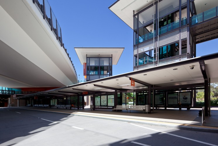 Lutwyche Bus Station - Brisbane <br ⁄> Cottee Parker Architects