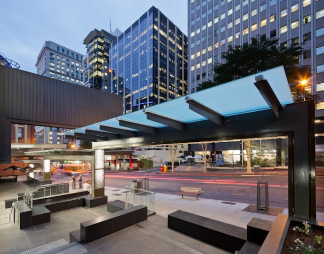 131 Adelaide St - Brisbane, QLD <br ⁄> Hutchinson Builders <br ⁄> ARKHEFIELD