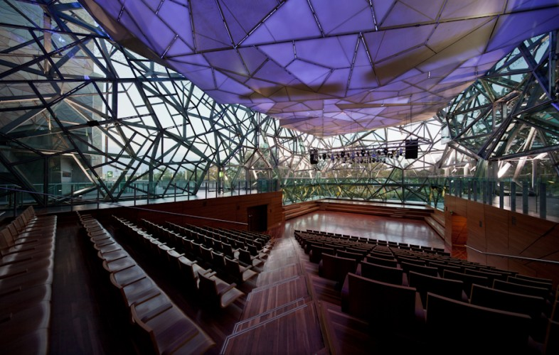 Federation Square - Melbourne; Australia <br ⁄>