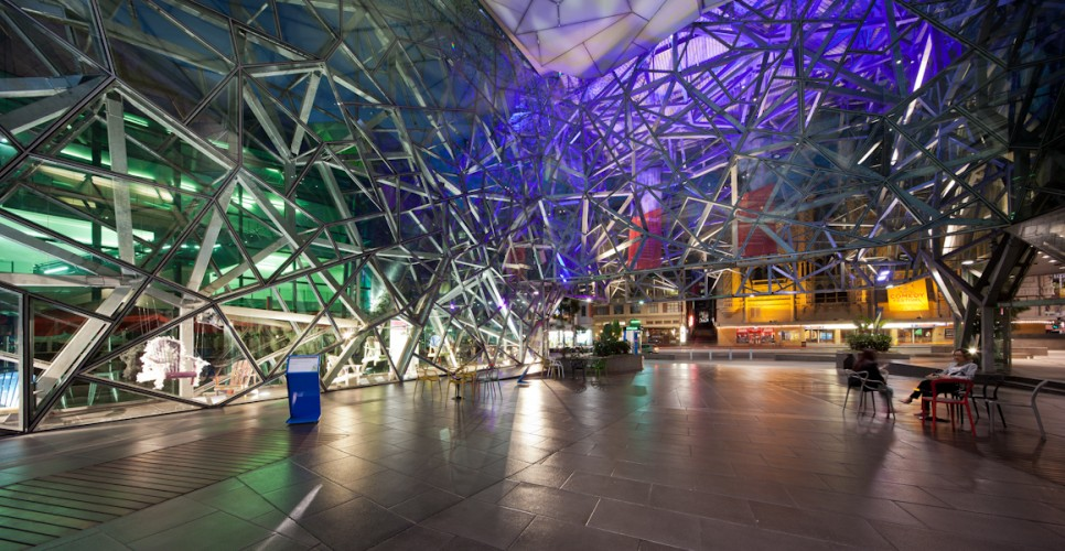 Federation Square - Melbourne; VIC <br ⁄>