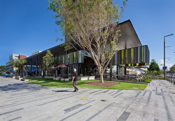 Flinders St Revitalisation - Townsville; QLD  Cox Rayner Architects