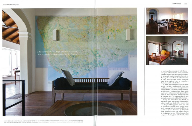 Galle House - Justin Hill + Simon Cundy (KHA); Galle, Srilanka