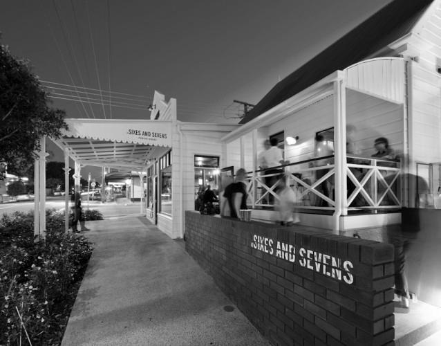 Sixes & Sevens Bar Blueprint Architects