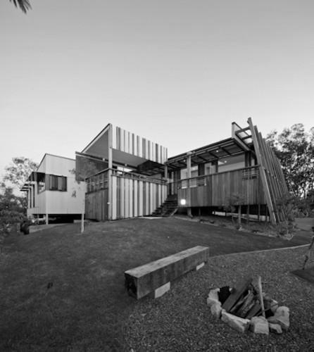 Karboora House - Nth Stradbroke Island; Australia Justin O'Neill Architecture