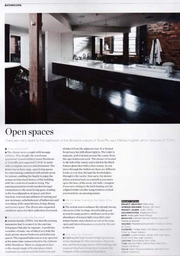Tonic Architecture - Woolstore Apartment; Brisbane