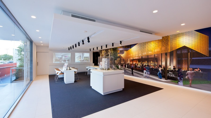 Mirvac Display Centre - Hamilton; Brisbane <br ⁄> Hutchinson Builders