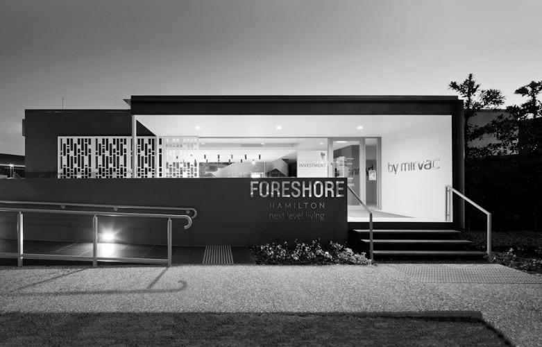 Mirvac Display Centre - Hamilton; Brisbane, Australia <br /> Hutchinson Builders